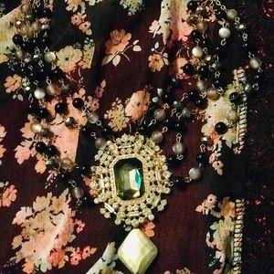 Beautifully beaded necklace